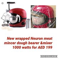 Used Dough beater & mixer and meat mincer in Dubai, UAE
