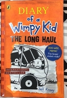 Used Diary Of A Wimpy Kid The Long Haul Book in Dubai, UAE