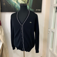 Used Lacoste men's cardigan NEW XL #authentic in Dubai, UAE
