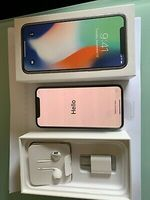 Used IPhone X silver 256GB in Dubai, UAE