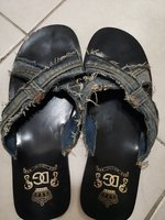 Used D&G men's slippers. Used. Size 42-43 in Dubai, UAE