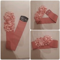 Used Pink elastic belt in Dubai, UAE