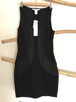 Authentic brand new DVF black dress