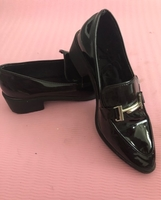 Used Black Loafers size37 in Dubai, UAE