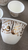 Used Arabic Coffee Cups (set of 6) in Dubai, UAE