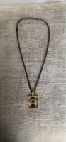 Used Lebanese designed All EyesonMe necklace in Dubai, UAE