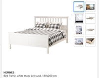 Used IKEA super kig bed 180×200 Frame only in Dubai, UAE