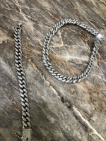 Used Sliver Chain and bracelet  in Dubai, UAE