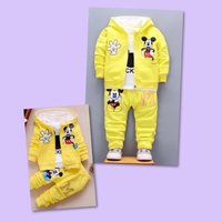 Used Mickey Mouse Suit Set/ 12 mos in Dubai, UAE