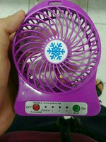 Used Mini PowerKing Fan LED Emergency New Box in Dubai, UAE
