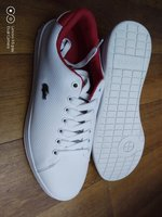 Used Lacoste white shoes in Dubai, UAE