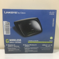 Linksys adsl router box