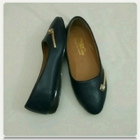 Used New Doll shoes navy blue size-37-39 in Dubai, UAE