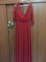 Party Red Dress Size 46