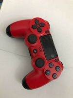 Used Sony Ps4 wireless controller red color  in Dubai, UAE