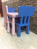 Used Small table with 3 chairs for kids  in Dubai, UAE