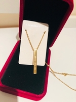 Used Never give up fashion necklace  in Dubai, UAE