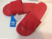Used Adidas slippers size 39, new  in Dubai, UAE