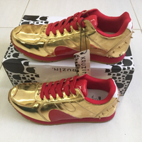 Used boston gold red shoes GMC0384 s41 in Dubai, UAE