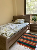 Used Twin Bed With Mattress 120x200 cms  in Dubai, UAE