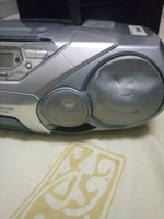 Phillips radio with tape and CD player