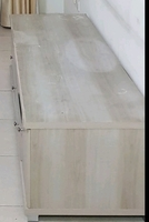 Used Tv table and Ikea Frame only. in Dubai, UAE