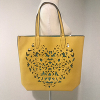 Used Yellow Tote/Shopping Bag NEW in Dubai, UAE