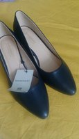 Used Shoemaker essential dark blue shoes in Dubai, UAE