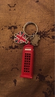 Used LONDON themed key chain  in Dubai, UAE