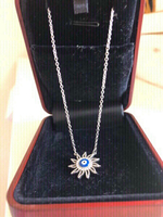 Used OFFER‼️‼️Real Silver pendant necklace  in Dubai, UAE