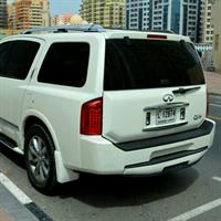 Used INFINTI QX56 gcc Specs Full Service HISTORY 119000 kms Only in Dubai, UAE