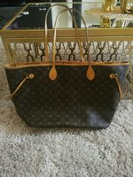 Used LV NEVERFUL  LEATHER BAG..MASTER'S COPY in Dubai, UAE