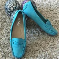 Shoes Flat New Green Size 36 Comfortable