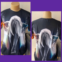 Used Men's 3D Design T-shirt/ XLarge  in Dubai, UAE