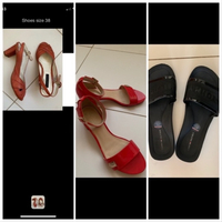 Used Bundle 3 pairs shoes 38 in Dubai, UAE