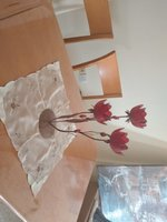 Red Roses candle holder House Decoration