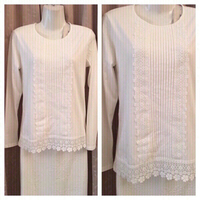 Used Cotton embroidered top size S in Dubai, UAE