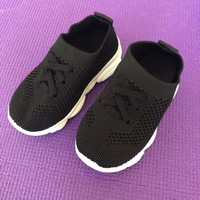 Used Black Sneakers for Kids/24 in Dubai, UAE