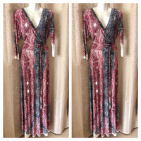 Used Nice long dress size XL UK 20 in Dubai, UAE