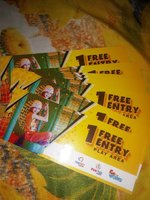 Used Fun city play area ticket for whole day in Dubai, UAE