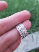 Used Ring just 14 drh size 7 and 8 in Dubai, UAE