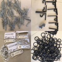 Used Ikea Curtain Rail Accessories.  in Dubai, UAE