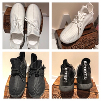 Used 2 pair sport shoes size 40 in Dubai, UAE