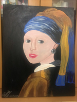Used Girl With A Pearl Earring {Painting} in Dubai, UAE
