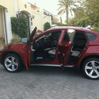 Used BMW X6 V8  Model 2009; 73000 Km in Dubai, UAE