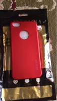 Used Limited edition red color iPhone 5 cover in Dubai, UAE