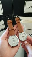 Used Original TOMI Couple Watches 》Box&Bag_73 in Dubai, UAE