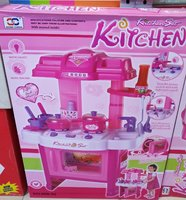 Kitchen set for baby girl