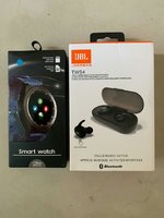 Used Bundle offer smart watch with earbuds in Dubai, UAE