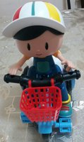 Used Electric tricycle toy with music light in Dubai, UAE